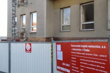 Cheb nemocnice rekonstrukce kkn