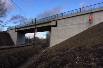 Most Nove Sedlo Chodov Karlovarsky kraj