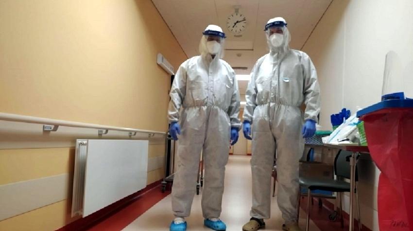 KKN Karlovarska krajska nemocnice covid koronavirus policie cr pomoc