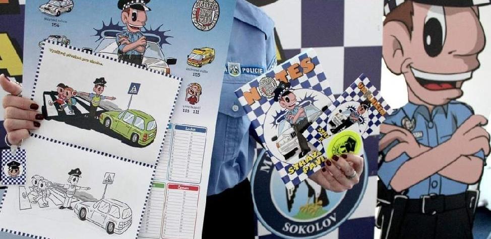 Notes straznika Pavla. Mestska policie Sokolov