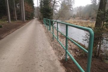 Cyklostezka z Všeborovic do Šemnice je zkolaudovaná