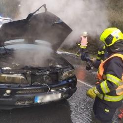 Jedenáct událostí řešili hasiči v kraji v během poslední dne starého roku a v průběhu noci na 1. ledna