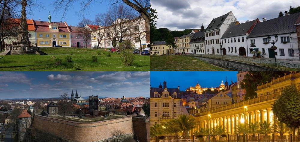 Čtyři města Karlovarského kraje se ucházejí o titul Historické město roku 2020
