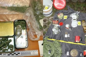 Zloděj zanechal na místě činu 1,2 kg marihuany