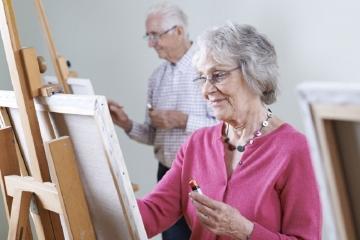 Soutěž pro výtvarně nadané seniory z Karlovarského kraje