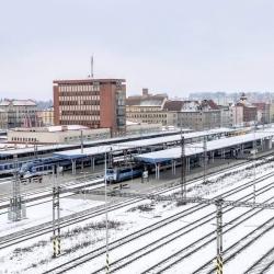 Železniční stanice Cheb je zmodernizována