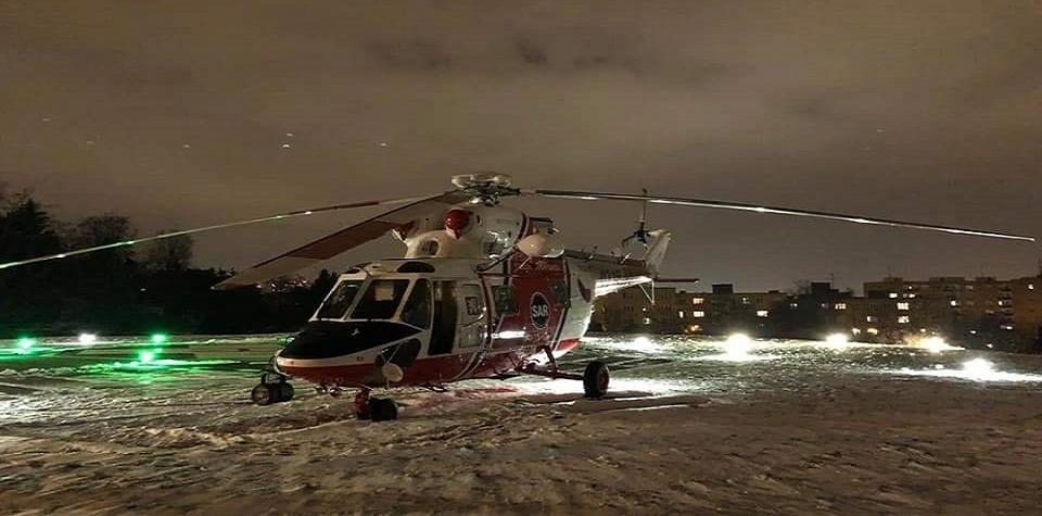 Letecké transporty těžce nemocných s COVID-19 budou zatím pokračovat