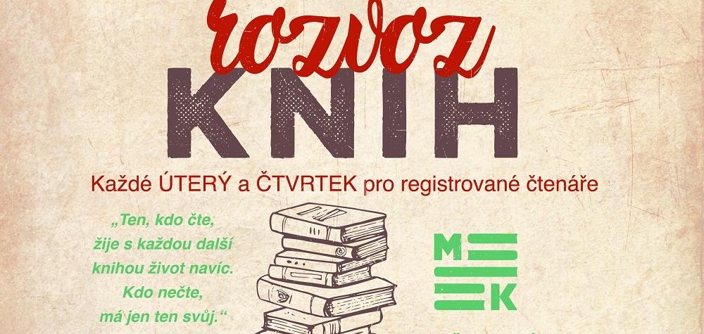 Sokolov: Senioři a handicapovaní si mohou objednat dovoz knih