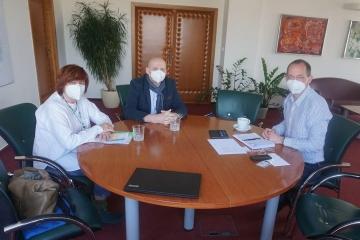 Hejtman Karlovarského kraje jednal se zástupci Nadačního fondu západočeských olympioniků