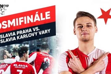 Karlovarskou Slavii čeká v MOL CUPu nejatraktivnější soupeř. Slavia vs Slavia