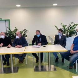 Ministr zdravotnictví Jan Blatný navštívil chebskou nemocnici
