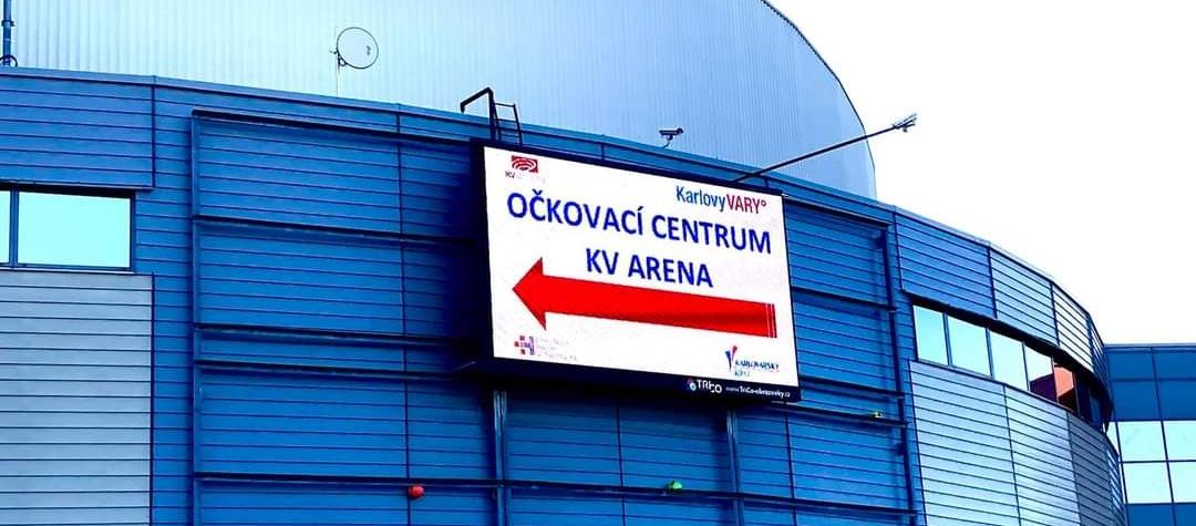 V Karlových Varech se můžete nechat očkovat bez registrace, V Karlovarské V KV Areně se otevírá očkovací centrum