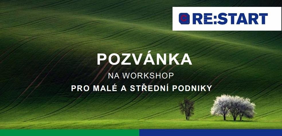 Pozvánka na workshop pro malé a střední podniky Karlovarského kraje zaměřený na FST