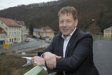 Chebským občanům vyjádřil podporu i starosta saského Tharandtu