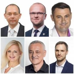 Společné prohlášení hejtmanů Karlovarského, Pardubického, Libereckého, Středočeského, Olomouckého kraje a primátora Hlavního města Prahy.