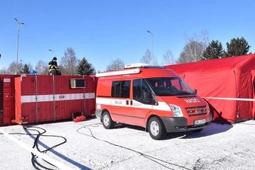 Na hraničním přechodu Pomezí je od noci ze soboty na neděli znovu zřízené mobilní odběrné místo