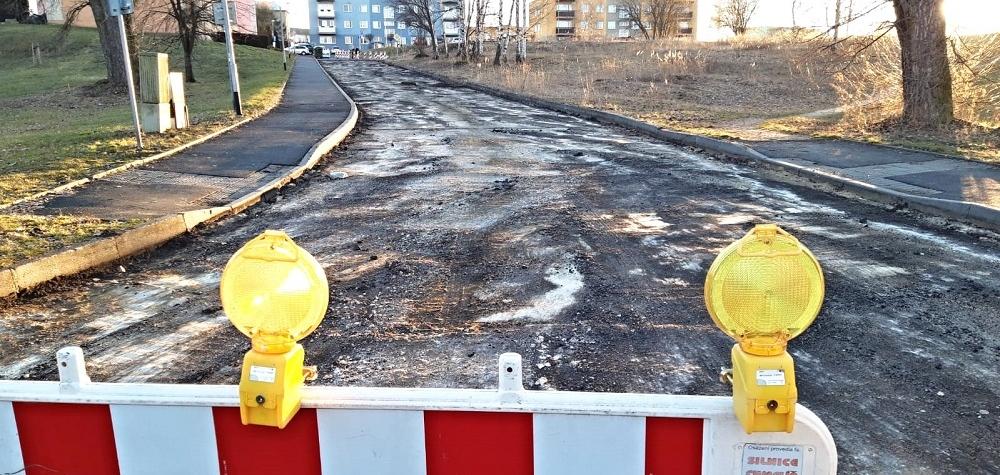 Na sídlišti Vítězná v Sokolově začíná rozsáhlá oprava Atletické ulice