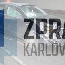Dopravní nehoda v Kraslicích. Řidič nadýchal 1,74 promile