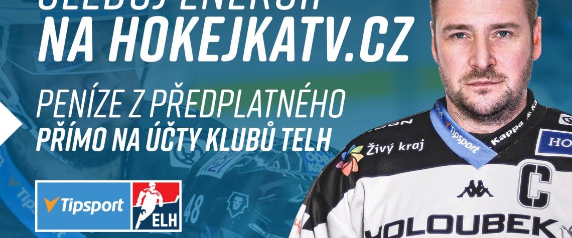 Permanentkáři Energie uvidí zápasy na Hokejka TV zdarma i v březnu