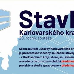 20. ročník soutěže Stavby Karlovarského kraje