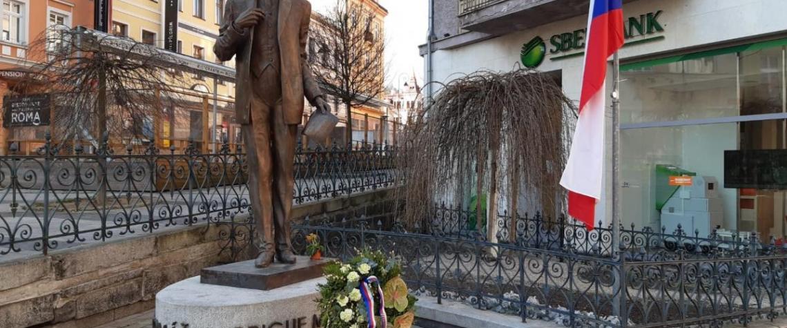 Dnes si připomínáme výročí narození T. G. Masaryka