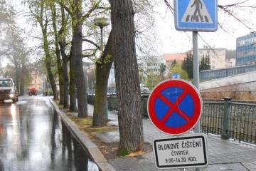 Blokové čištění města Karlovy Vary