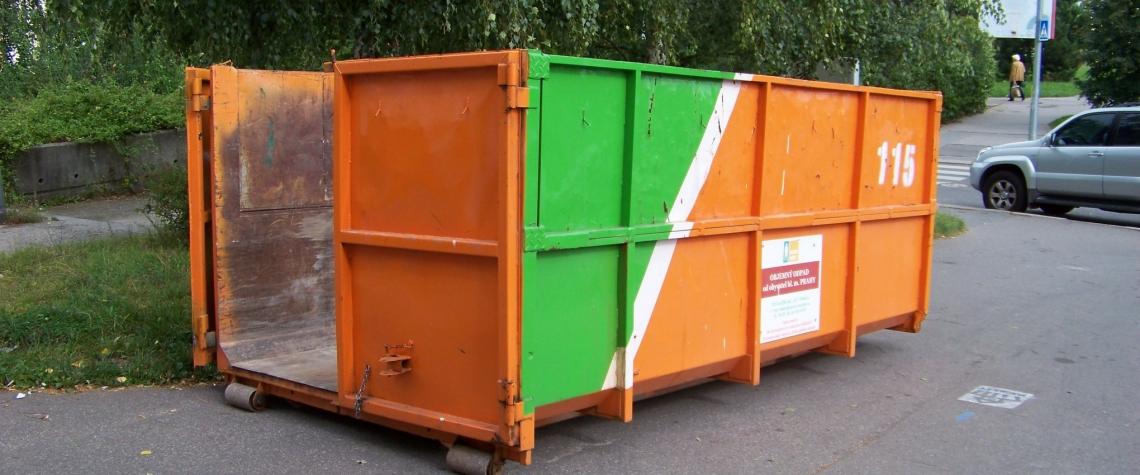 Svoz odpadu, nakládání s odpadem,