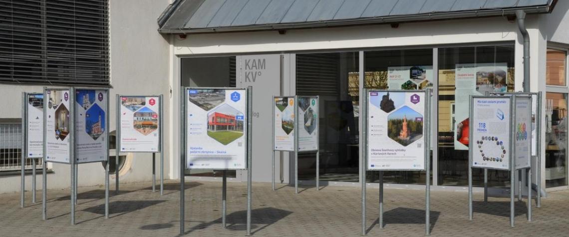 Do Karlových Varů dorazila putovní výstava Má vlast cestami proměn