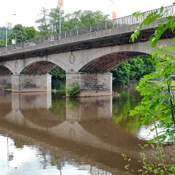 Investiční akce a opravy vKarlových Varech pro rok 2021, Chebský most čeká uzavírka a oprava