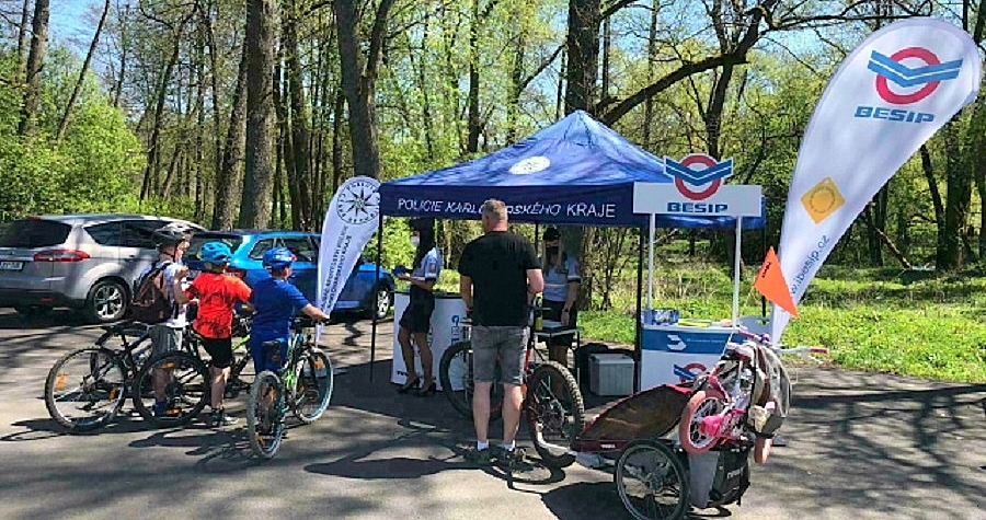 Cyklistická sezóna zahájena. Započaly preventivné akce zaměřené na cyklisty