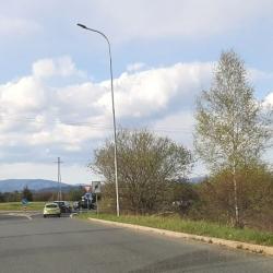 Karlovy Vary: Oprava omezí průjezd okružní křižovatkou u Globusu