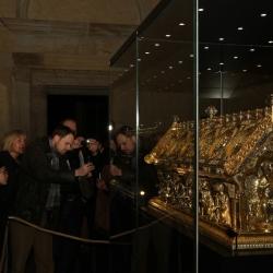 V Bečově ověřili a uložili ostatky svatých do relikviáře sv. Maura