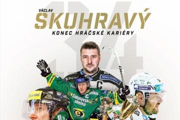 Václav Skuhravý ukončil hokejovou kariéru