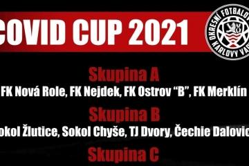 Začíná Covid Cup 2021. Fotbalový turnaje OFS Karlovy Vary