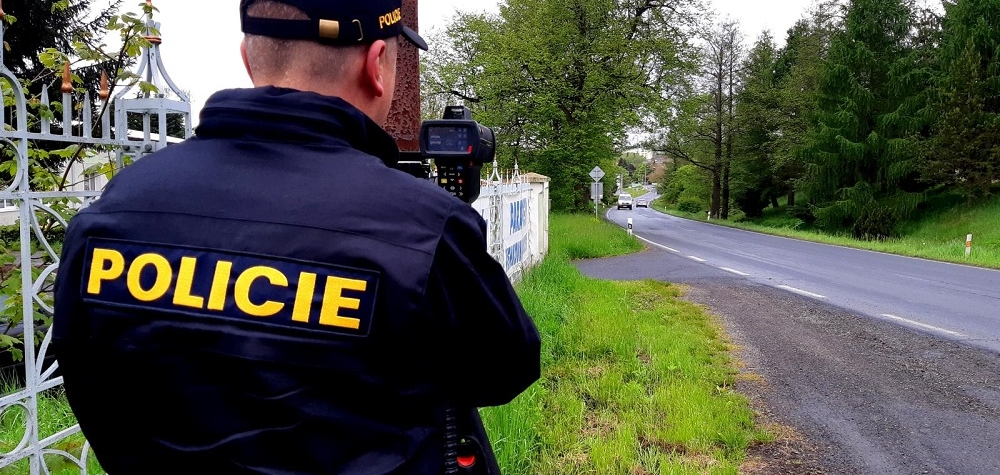 Policisté se zaměřili na rychlost.