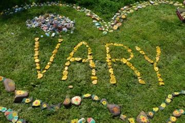 Srdce proti rakovině můžete vidět v Karlových Varech