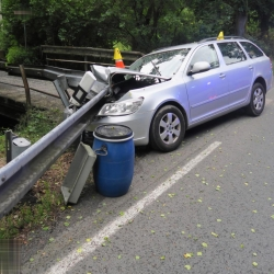 Dopravní nehoda u Horního Slavkova