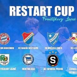 Pozvánka na mezinárodní fotbalový turnaj Restart Cup