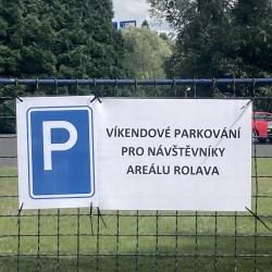 Nová parkovací místa na Rolavě