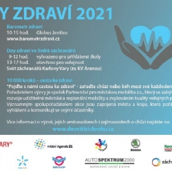 Karlovy Vary se zapojí do Dnů zdraví