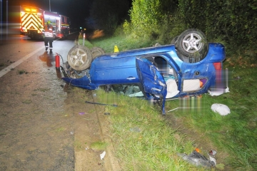 Autonehoda nehoda na dálnici D6