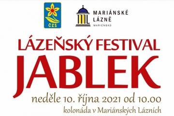 Pozvánka na Lázeňský festival jablek v Mariánských Lázních