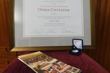 Městu Cheb byla udělena Zvláštní cena České národní banky Opera Civitatem 2021